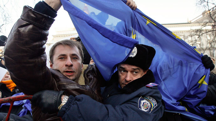 Ukraine dodges 'EU death spiral'