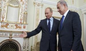 Putin Plays Energy Chess with Netanyahu